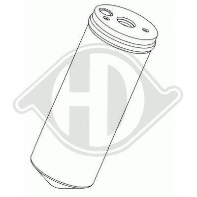 Filtre déshydratant, climatisation - Diederichs Germany - 8262201