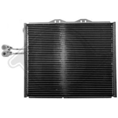 Condenseur, climatisation - Diederichs Germany - 8267500