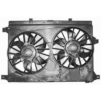 Ventilateur, refroidissement du moteur - Diederichs Germany - 8305203