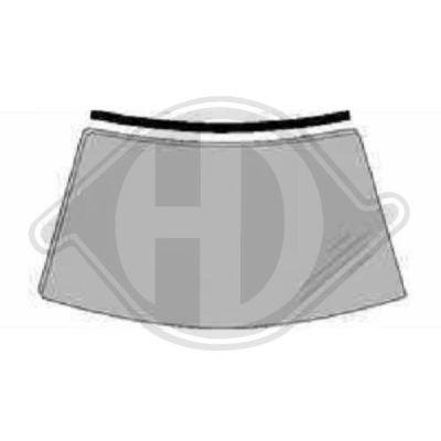 Joint d'étanchéité, pare-brise - HDK-Germany - 77HDK8307609