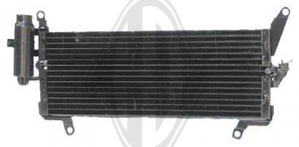 Condenseur, climatisation - Diederichs Germany - 8321200