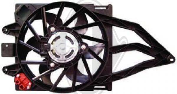 Ventilateur, condenseur de climatisation - HDK-Germany - 77HDK8343502