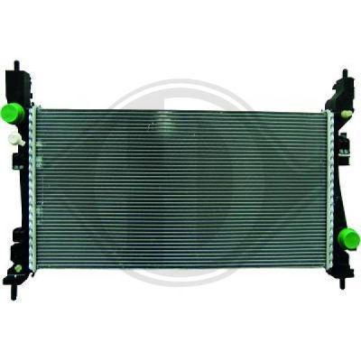 Radiateur, refroidissement du moteur - Diederichs Germany - 8345202
