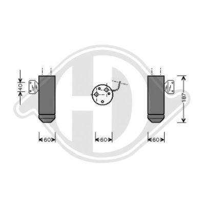 Filtre déshydratant, climatisation - HDK-Germany - 77HDK8345302