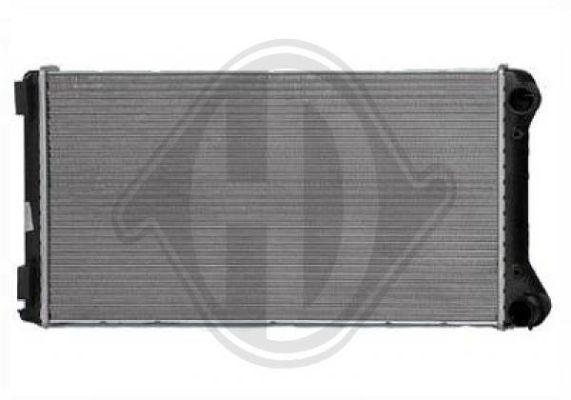 Radiateur, refroidissement du moteur - HDK-Germany - 77HDK8345306