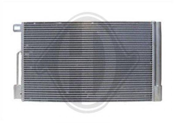 Condenseur, climatisation - Diederichs Germany - 8345600