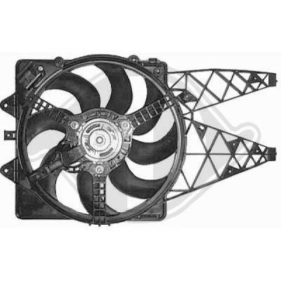 Ventilateur, refroidissement du moteur - HDK-Germany - 77HDK8345613