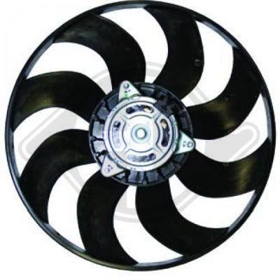 Ventilateur, refroidissement du moteur - Diederichs Germany - 8346302