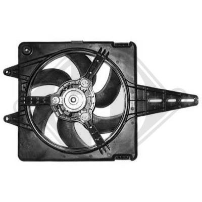 Ventilateur, refroidissement du moteur - Diederichs Germany - 8347502