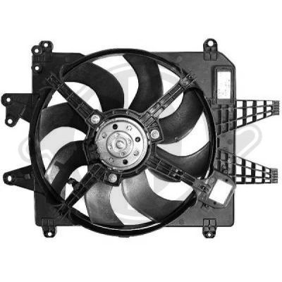 Ventilateur, refroidissement du moteur - Diederichs Germany - 8347507