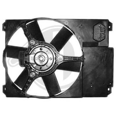 Ventilateur, refroidissement du moteur - Diederichs Germany - 8348103