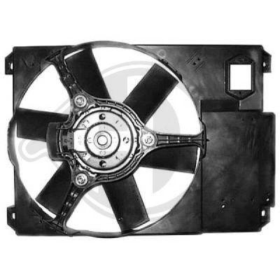 Ventilateur, refroidissement du moteur - Diederichs Germany - 8348303