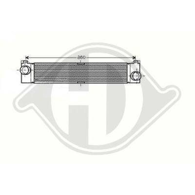 Intercooler, échangeur - Diederichs Germany - 8348409