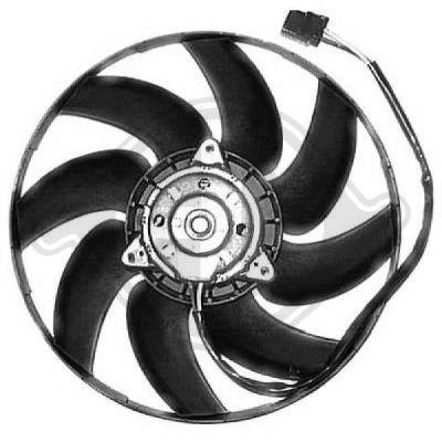 Ventilateur, refroidissement du moteur - Diederichs Germany - 8349109