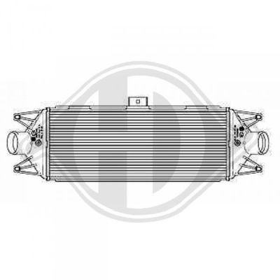 Intercooler, échangeur - Diederichs Germany - 8349210