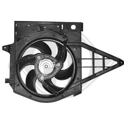 Ventilateur, refroidissement du moteur - Diederichs Germany - 8349501