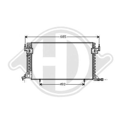 Condenseur, climatisation - HDK-Germany - 77HDK8401160