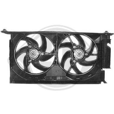 Ventilateur, refroidissement du moteur - Diederichs Germany - 8401202