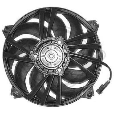 Ventilateur, refroidissement du moteur - Diederichs Germany - 8401203