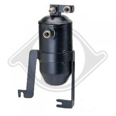 Filtre déshydratant, climatisation - Diederichs Germany - 8403502
