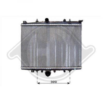 Radiateur, refroidissement du moteur - Diederichs Germany - 8406105