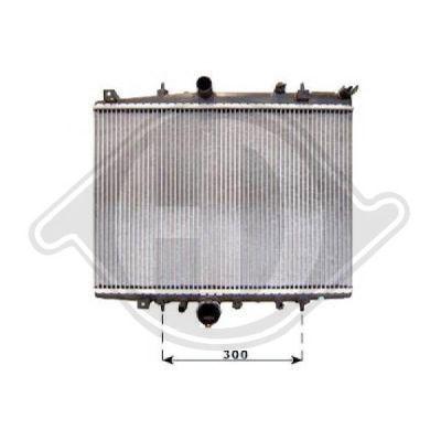 Radiateur, refroidissement du moteur - Diederichs Germany - 8406106