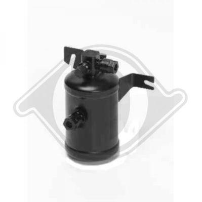Filtre déshydratant, climatisation - Diederichs Germany - 8407003