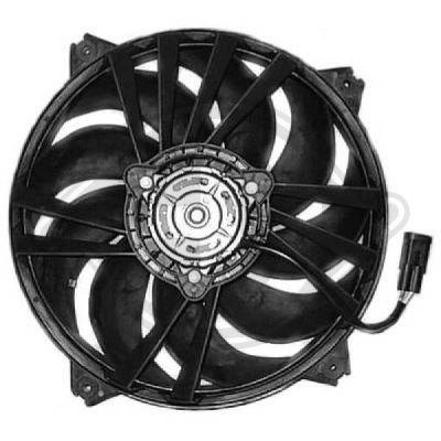 Ventilateur, refroidissement du moteur - Diederichs Germany - 8407104