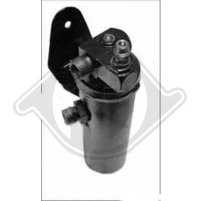 Filtre déshydratant, climatisation - HDK-Germany - 77HDK8421001