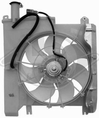 Ventilateur, refroidissement du moteur - Diederichs Germany - 8421101