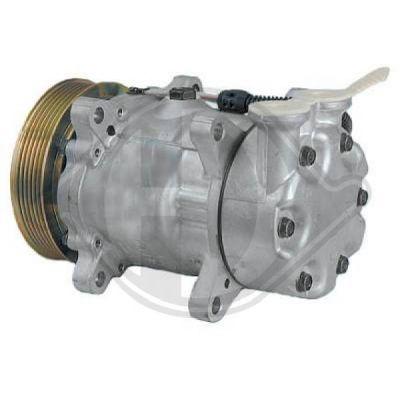 Compresseur, climatisation - Diederichs Germany - 8422502