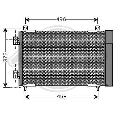 Condenseur, climatisation - Diederichs Germany - 8422504