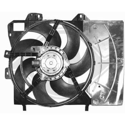 Ventilateur, refroidissement du moteur - HDK-Germany - 77HDK8422607