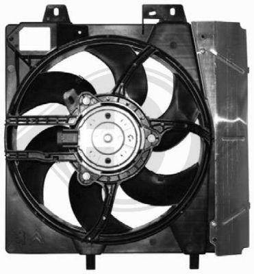Ventilateur, refroidissement du moteur - Diederichs Germany - 8422609
