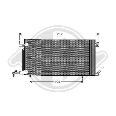 Condenseur, climatisation - HDK-Germany - 77HDK8423301