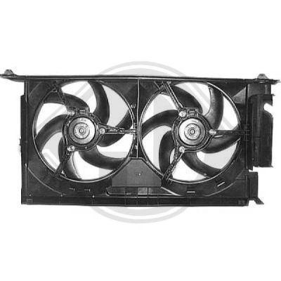 Ventilateur, refroidissement du moteur - Diederichs Germany - 8423310