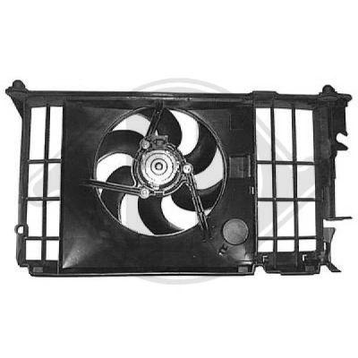 Ventilateur, refroidissement du moteur - HDK-Germany - 77HDK8423312