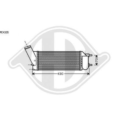 Radiateur, refroidissement du moteur - Diederichs Germany - 8423406