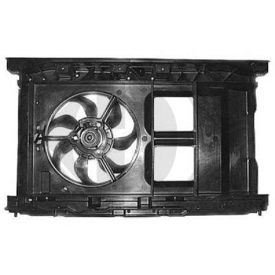Ventilateur, refroidissement du moteur - Diederichs Germany - 8423410