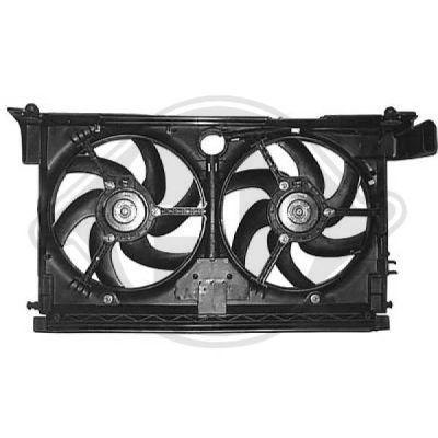 Ventilateur, refroidissement du moteur - Diederichs Germany - 8424210