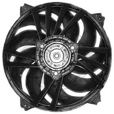 Ventilateur, refroidissement du moteur - Diederichs Germany - 8424216