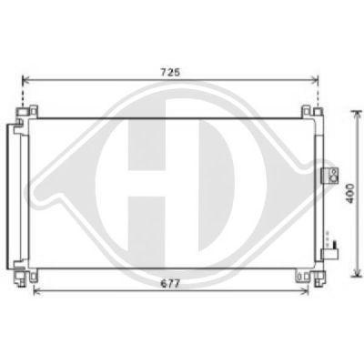 Condenseur, climatisation - HDK-Germany - 77HDK8424401