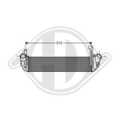 Intercooler, échangeur - Diederichs Germany - 8441267