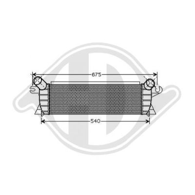 Intercooler, échangeur - HDK-Germany - 77HDK8441268
