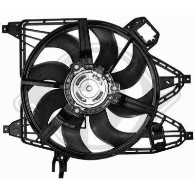 Ventilateur, refroidissement du moteur - HDK-Germany - 77HDK8441363