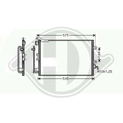 Condenseur, climatisation - HDK-Germany - 77HDK8441400