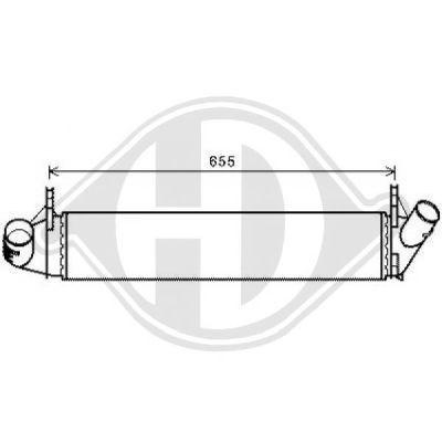 Intercooler, échangeur - HDK-Germany - 77HDK8442005