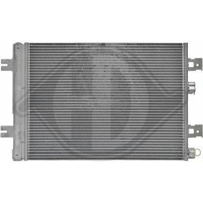 Condenseur, climatisation - Diederichs Germany - 8445501