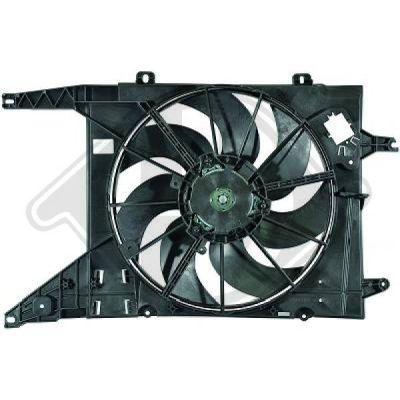 Ventilateur, refroidissement du moteur - HDK-Germany - 77HDK8445510