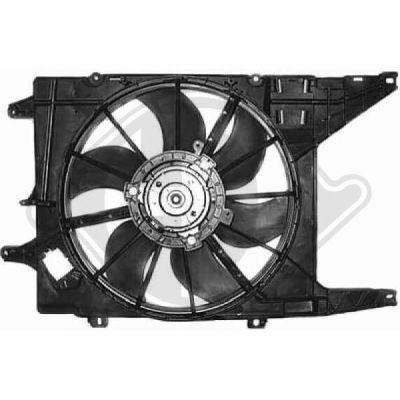 Ventilateur, refroidissement du moteur - HDK-Germany - 77HDK8445511